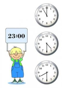 telling time worksheets (2)