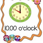 Time worksheets for learning to tell time