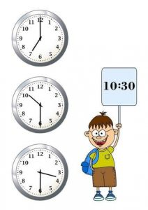 time worksheets for learning to tell time (2)