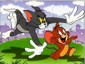 tom and jerry puzzle for kids
