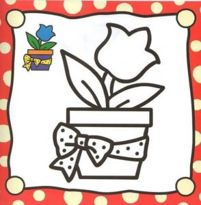 vase coloring pages
