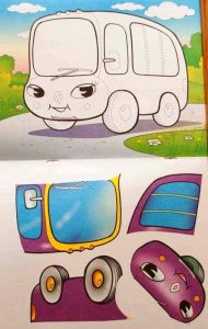 vehicles cut and paste worksheets (2)