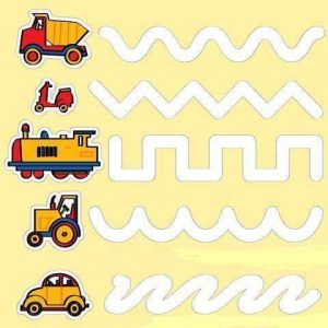 vehicles mazes