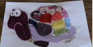 yarn turtle craft