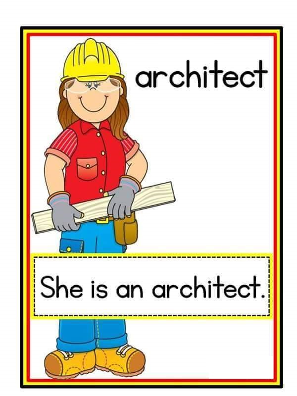 Jobs Flashcards 4 on Shapes Activities Preschoolers