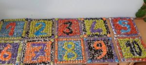 Mosaic numbers activity