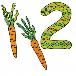 number-flashcards-1-10-fruits-vegetables