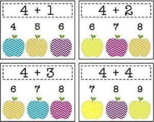 apple-addition-sheets