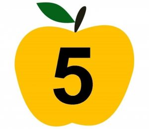 apple-number-cards-5