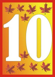 autumn-number-ten-card