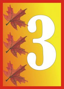 autumn-number-three-card