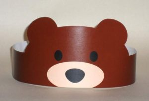 brown-bear-paper-crown-craft