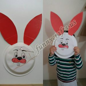 bunny-mask-made-from-plate