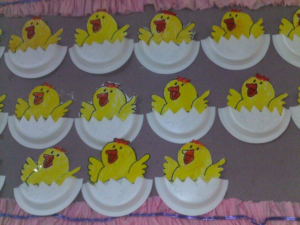 chickenbulletinboardideasforpreschool funnycrafts