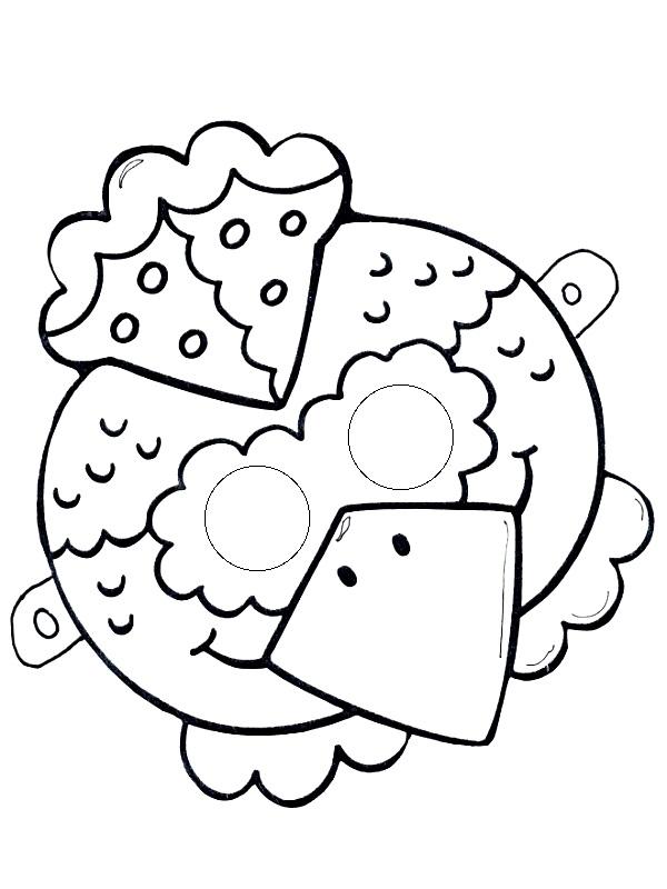 chicken-mask-tamplate u00ab funnycrafts