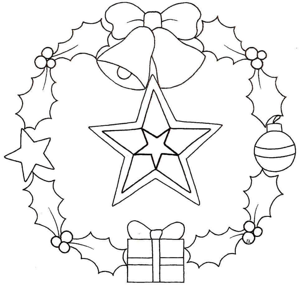 christmas mandala coloring pages - photo#36