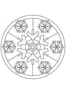 christmas mandalas coloring (4)