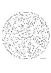 christmas mandalas coloring (5)