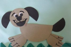 circle-paper-dog-crafts