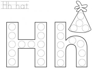 do-a-dot-letter-h-printable