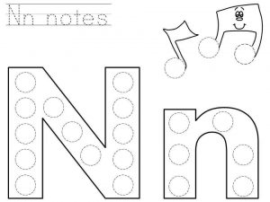 do-a-dot-letter-n-printable