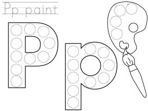 do-a-dot-letter-p-printable