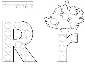 do-a-dot-letter-r-printable