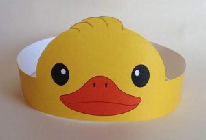 duck-paper-crown-craft