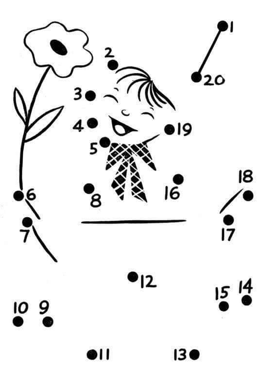 easy dot to dot sheet (4) Â« funnycrafts