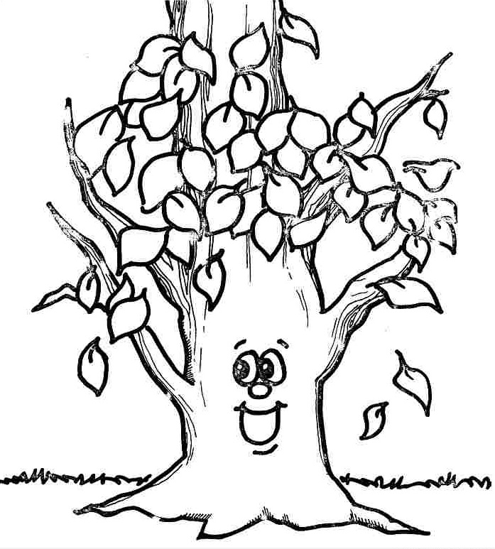 fall coloring pages 3 - Fall Coloring Pages