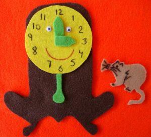 felt-clock-project