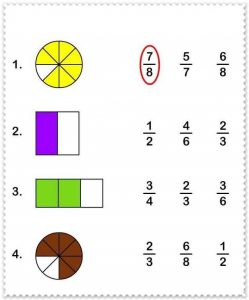 math worksheet : fraction free printable worksheets  funnycrafts : Fraction Worksheet For Kindergarten
