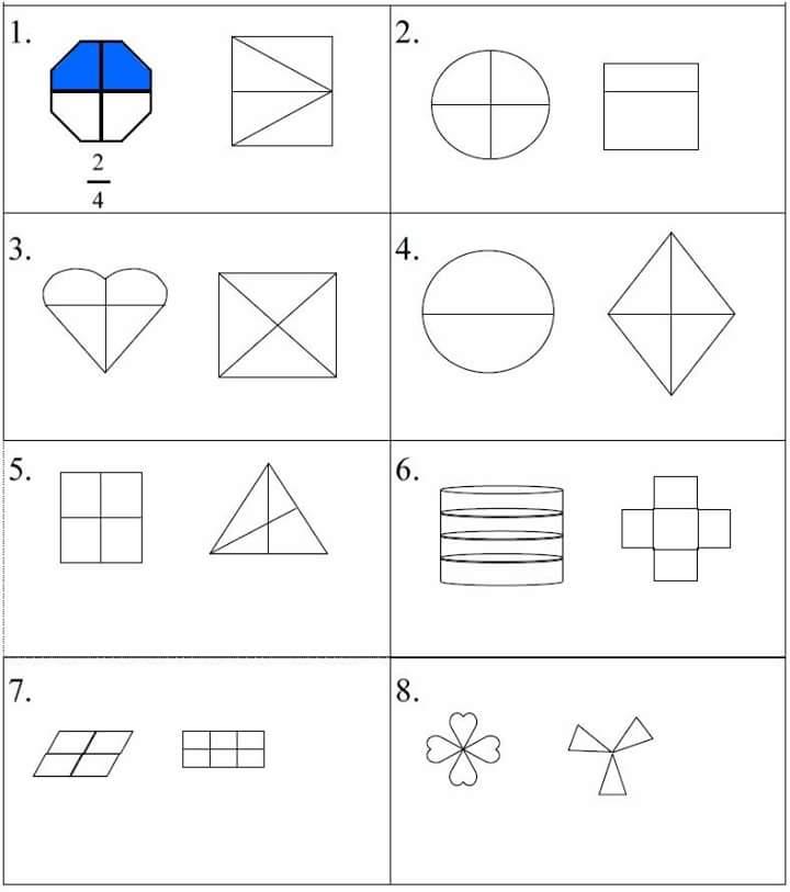 math worksheet : fraction worksheet for kids 5 « funnycrafts : Fraction Worksheets For Kids