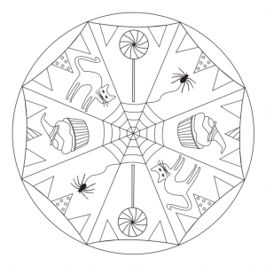 free-halloween-mandala-coloring-pages
