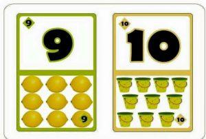 free printable number flashcards