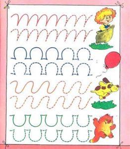 fun pre-writing sheets for kids