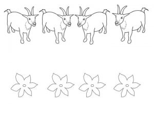 goat color activities for kids