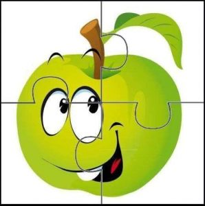 green-apple-puzzle-for-kids