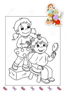 hairdresser-coloring-page