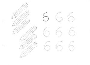 kindergarten-number-six-sheets-1