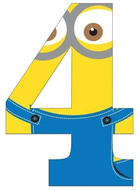 Minion Numbers Free Printables Learn to count from 1 up to 10 with