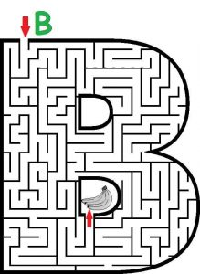 letter A maze (2)