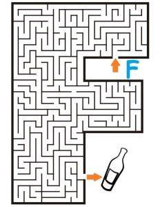 letter F maze (1)