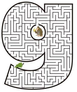 letter G maze (1)