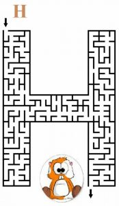 letter H maze (2)