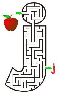 letter J maze (1)