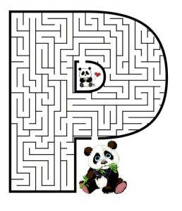 letter P maze (2)
