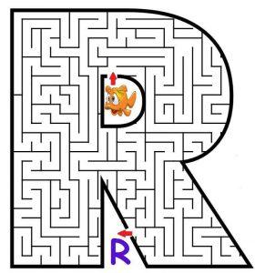 letter R maze (2)