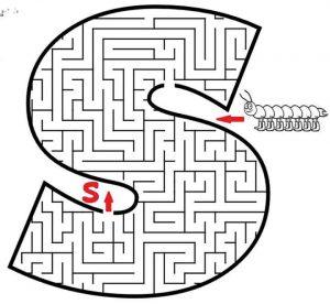 letter S maze (1)