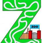 Capital letter maze